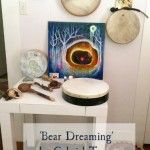 Bear Dreaming in her new home by Gabriel Tamaya