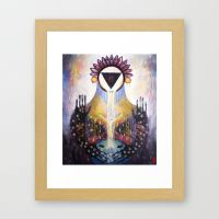 Arising framed print by Gabriel Tamaya